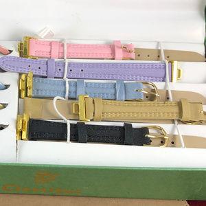 Classiques Entier Accessories - Classique Watch Set with Color Bezels and Straps